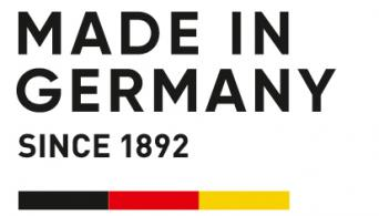 Deutsches Qualitätsprodukt: Made in Germany.
